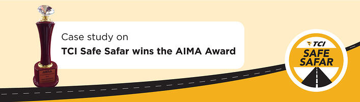 AIMA Award - TCI Safe Safar