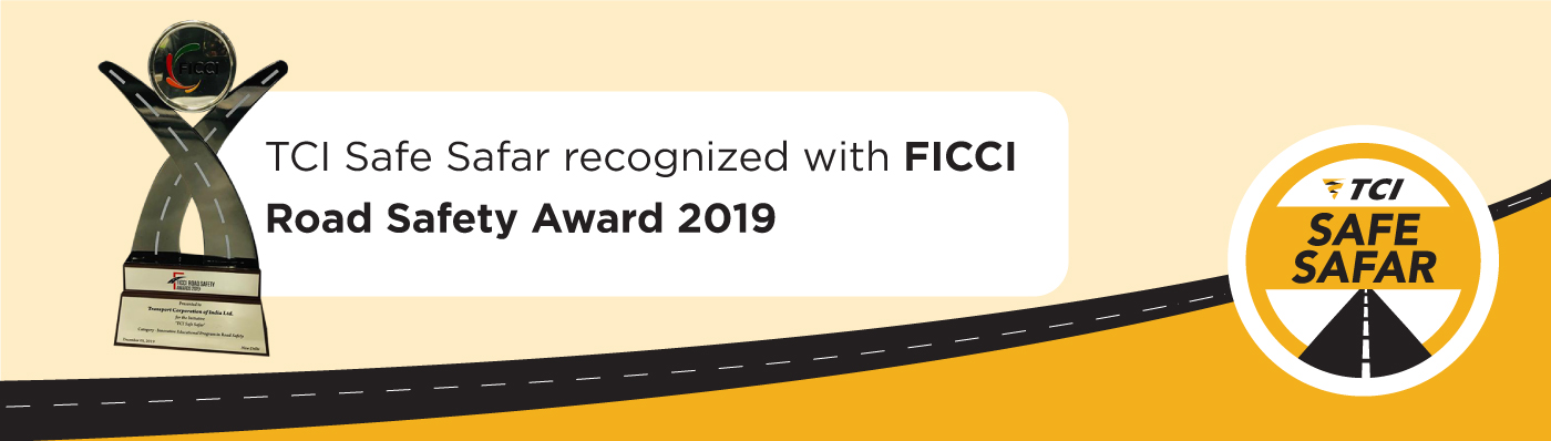 FICCI Award - TCI Safe Safar
